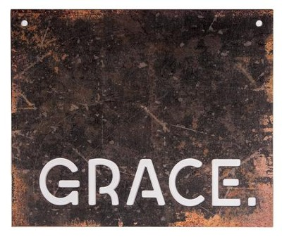 Grace, Silhouette Sign, Large  -