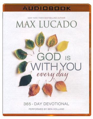 God Is With You Every Day - unabridged audio book on MP3-CD  -     By: Max Lucado