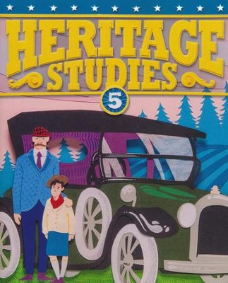 BJU Heritage Studies Grade 5 Student Text, Fourth Edition  -
