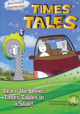Times Tales: Upper Times Tables DVD   -