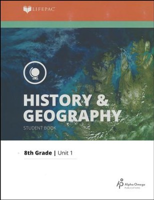 Lifepac History & Geography Grade 8 Unit 1: Europe Comes To  America  -