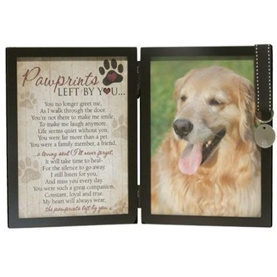Pawprints Memory Photo Frame  -