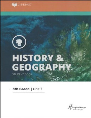Lifepac History & Geography Grade 8 Unit 7: The Gilded Age to Progressive Era  -