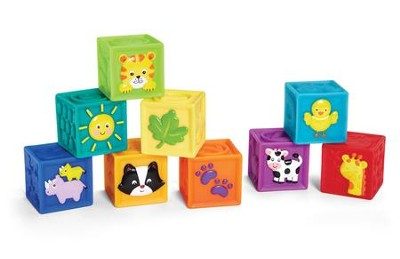 Earl years Squeak n' Stack Blocks  -