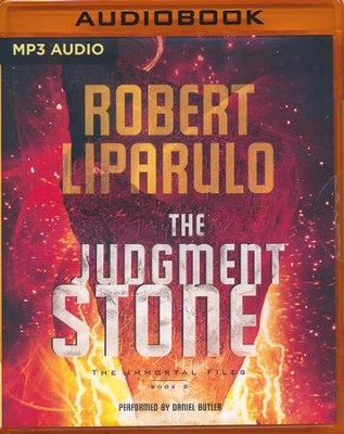 #2: The Judgment Stone, Immortal Files - unabridged audio book on MP3-CD  -     Narrated By: Daniel Butler     By: Robert Liparulo