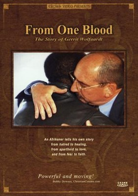 From One Blood: The Story of Gerrit Wolfaardt--DVD   -