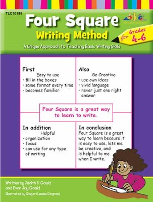 Four Square Writing, Grades 4-6   -