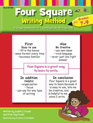 Four Square Writing, Grade 7-9   -