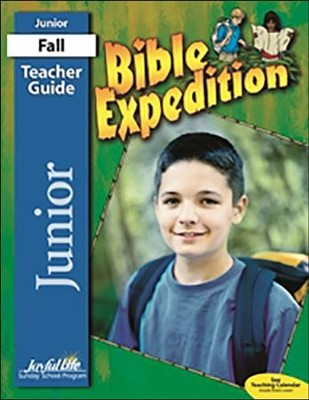Bible Expedition Teacher Guide (Junior; Grades 5 & 6; 2016 Edition)  -