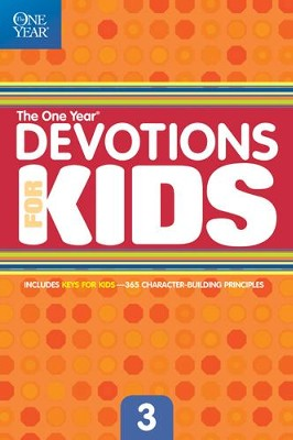 The One Year Devotions for Kids #3 - eBook  -