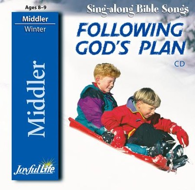 Following God's Plan Middler (Grades 3-4) Audio CD   -