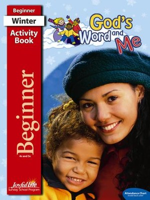 God's Word and Me Beginner (ages 4 & 5) Activity Book   -