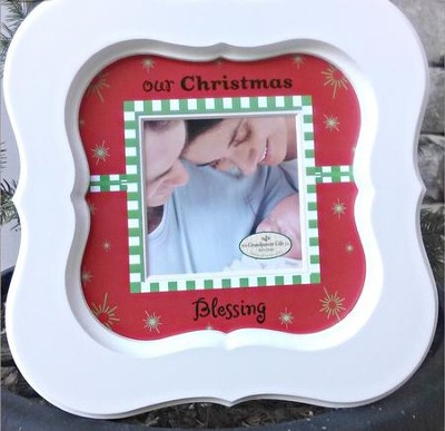 Our Christmas Blessing Photo Frame  -