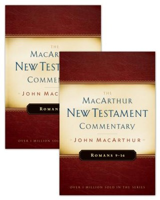 Romans 1-16 MacArthur New Testament Commentary Two Volume Set / New edition - eBook  -     By: John F. MacArthur