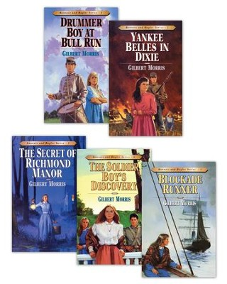 Bonnets and Bugles Series Books 1-5 / New edition - eBook  -     By: Gilbert L. Morris