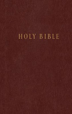 NLT Pew Bible, Hardcover Burgundy   -
