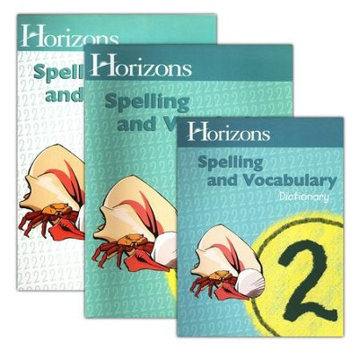 Horizons Spelling & Vocabulary 2, Complete Set   -     By: Alpha Omega