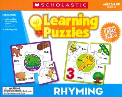 Rhyming Learning Puzzles  -