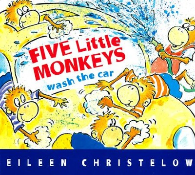 Five Little Monkeys Wash the Car  -     By: Eileen Christelow