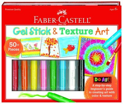 Do Art Gel Stick and Texture Art  -     By: Creativity for Kids