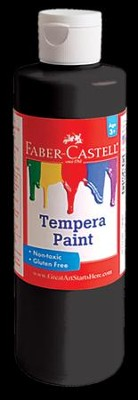 Tempera Paint, Black  -