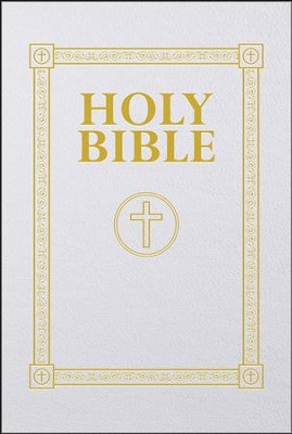 Douay Rheims First Communion Bible  -     By: Saint Benedict Press