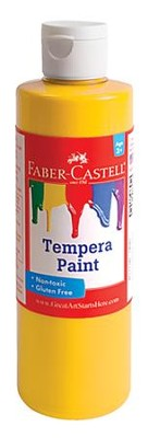 Tempera Paint, Yellow  -