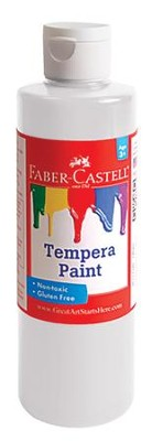 Tempera Paint, White  -