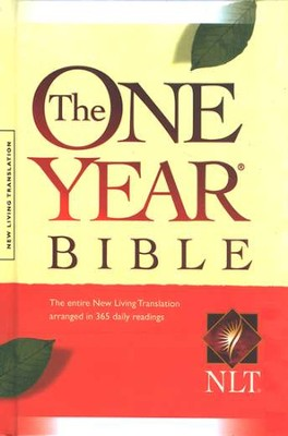 NLT One Year Bible, Compact Hardcover   -