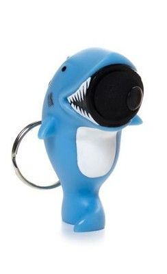 Shark Popper Key Chain  -