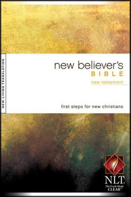 NLT New Believer's New Testament - softcover edition  -