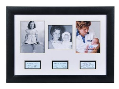 Grandma, Life Story Photo Frame  -