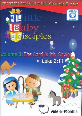 The Lord Is My Savior: Little Baby Disciples Volume 3   -