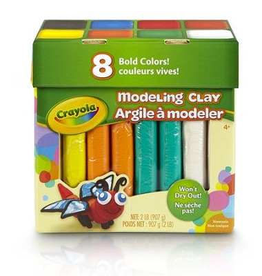 Modeling Clay, 2 Pound Jumbo Assortment  -