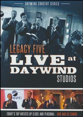 Legacy Five Live at Daywind CD/DVD   -     By: Legacy Five