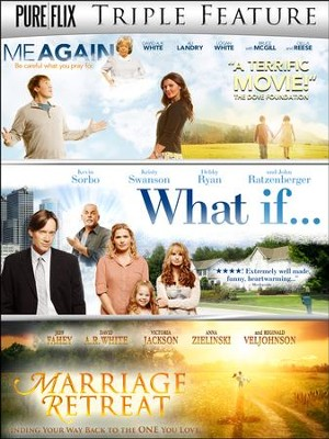 Family Triple Feature DVD Set: Marriage Retreat, What If..., and Me Again   -