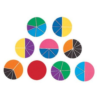 Deluxe Rainbow Fraction Circles   -