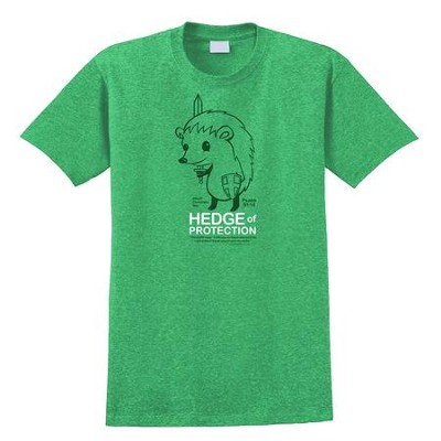 Hedge of Protection Shirt, Green, Small  -