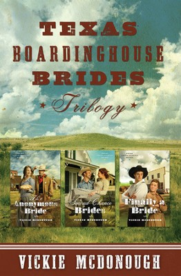 Texas Boardinghouse Brides Trilogy - eBook  -     By: Vickie McDonough