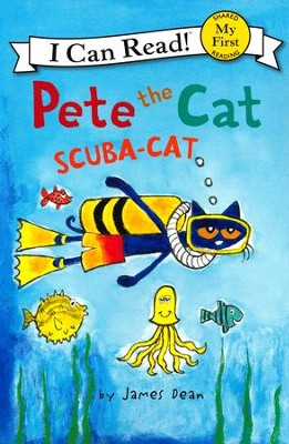 Pete the Cat: Scuba-Cat, softcover  -     By: James Dean     Illustrated By: James Dean