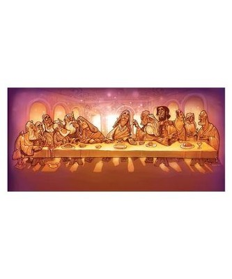 The Last Supper Backdrop  -