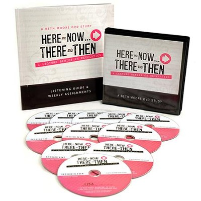 Here and Now...There and Then DVD Set: A Lecture Series on Revelation  -     By: Beth Moore