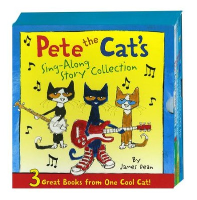 Pete the Cat's Sing-Along Story Collection  -     By: James Dean     Illustrated By: James Dean