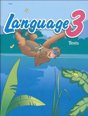 Abeka Language 3 Student Test Book   -