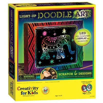 Light-Up Doodle Art  -     By: Creativity for Kids