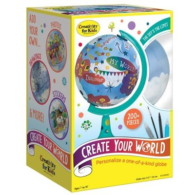 Create Your World  -     By: Creativity for Kids