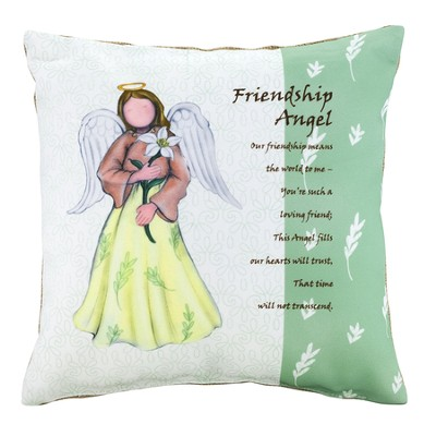 Friendship Angel Pillow, Large  -
