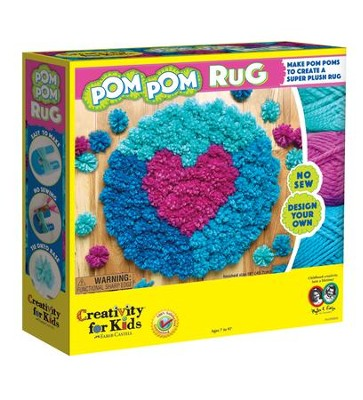 Pom Pom Rug  -     By: Creativity for Kids