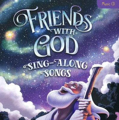 Friends With God Sing-Along Songs: Music CD  -