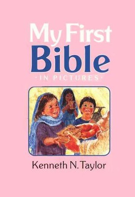 My First Bible in Pictures - Pink Hardcover  -     By: Kenneth Taylor